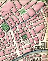Upper Dorset Street, Gardiner Street, Sherrard Street, Belvedere Place, Fitz Gibbon Street, Circular Road, Carolin Row, Nunnery, Frederick Street, Stable Lane, Charlemont House, Palace Row, Rutland Square, Stable Lane, Granby Place, Granby Row, Lying In Hospital, Cavendish Row, Gardiners Row, Denmark Street, Gardiners Place, Mountjoy Square, Great Charles Street, Stable Lane, Great George Street, Temple Street, Grenville Street, Mountjoy Place, Rutland Street, Great Britain Street, Summer Hill, Cumberland Street, Gloucester Street, Gardiners Street, Belle Street, Buckingham Street, Nugent Lane, Aldborough House (Aldboro House), Amiens Street, Gloucester Place (Gloster Place), Mecklenburgh Street, Dominick Street, Great Britain Street, Denmark Street, Market, Coles Lane, Simpsons Lane, Henry Street, Moore Street, Off Lane, Moore Lane, Sackville Street, Gregs Lane, St Thomas, Stable Lane, Marlborough Street, Elephant Lane, Earl Street, Stable Lane, Tuckers Row, Tyrone House, Cope Street, Marlborough Green (Marlboro Green), Blenham Street, Abbey Street, Gardiner Street, Mabbot Street, Montgomery Street, Moland Street, Liffey Street, Lower Liffey Street, Princes Street, The Lots, Batchelors Walk, Lower Abbey Street, Union Street, Dry Dock, Beresford Place, Custom House, Dock, River Anna Liffey, Carlisle Bridge, Astons Quay, Hawkin Street, Georges Quay, Poolbeg Street, Georges Street, Luke Street, Moss Street, City Quay, Gloster Street, & Princes Street