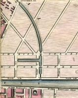 Newcomen Bridge, Royal Canal, Aldboro House (Aldborough House), Amiens Street, The Strand, Sheriff Street, Mayor Street, Commons Street, Guild Street, Wapping Street, North Wall, River Anna Liffey, City Quay, Gloster Street, Sir John Rogersons Quay, Lombard Street, Ordinance Street, Windmill Lane, Kings Stores, Marine School, Great Clarence Street, & Forbes Street